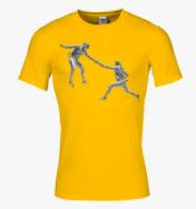 t shirt fencing men